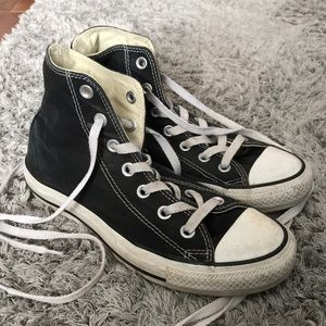 Black High-Top Converse